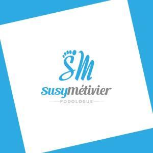 Logo Susy Métivier Podologue