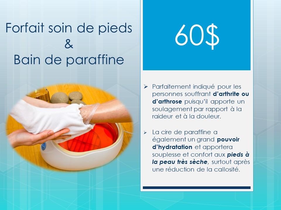 Annonce bain de parrafine 2020
